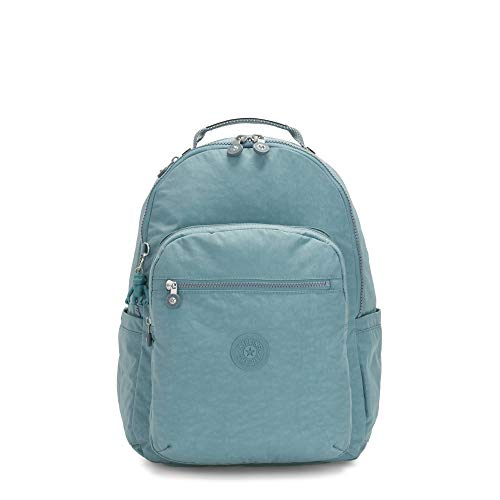 Kipling Seoul Large 15' Laptop Backpack Aqua Frost