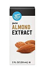 Amazon Brand - Happy Belly Pure Almond Extract 2, fl oz