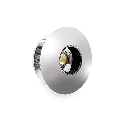 Mini foco LED empotrable 30° 1 W – 350 mA 6400 K – Lampo SNC TC02M/BI/BF