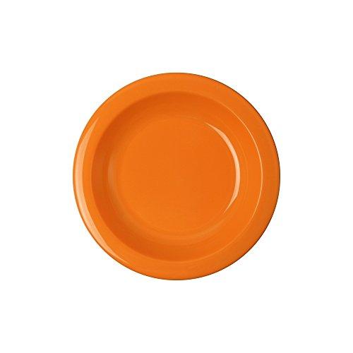 WACA® 1945-746 Teller tief Kunststoffteller 500 ml ∅ 216 mm orange