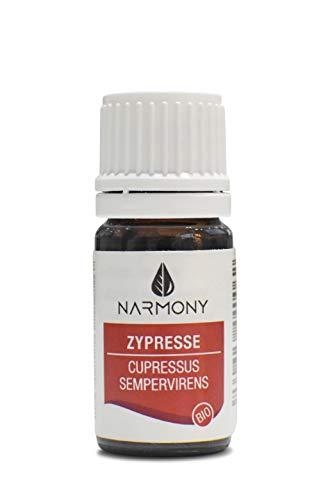Ätherisches Öl Bio Zypresse aus Spanien | 100% naturreines Zypressenöl | Kosmetikum für die Aromapflege und DIY Naturkosmetik | Duftöl für Raumbeduftung und Aroma Diffuser (Zypresse bio, 10ml)