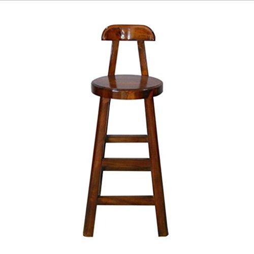 Tabouret en bois Hôtel solide bois table à manger Elm meubles anciens retour bar tabouret bar chaise loisirs chaises (taille : 100x40x40)