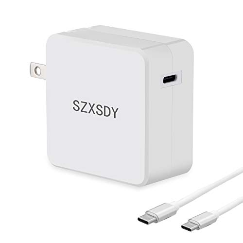 Fast Charger 30W MacBook Pro Charger with Type-C Cable Power Supply Fire-Proof PD 4.0 (30W+ Type-C)