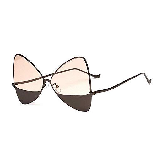LAMZH Gafas de Sol de la Moda de la Moda de la Moda de la Moda del Gafas de Sol. UV400 Protección de conducción Ciclismo Correr Pesca (Color : C5)