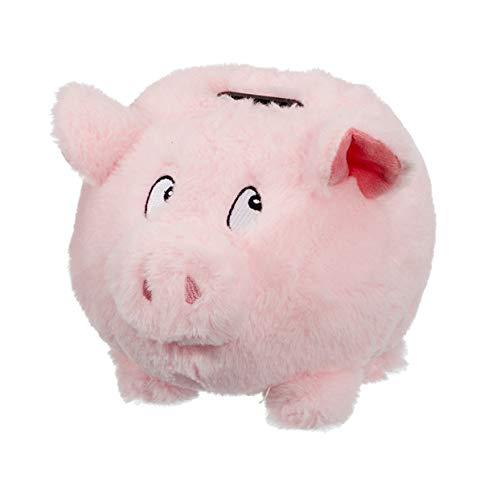 Topshop24you wunderschönes Sparschwein Spardose Plüschschwein, mit Sound, ca. 15cm groß