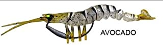 "Savage Gear 3D Panic Shrimp Avocado 4"" 2-Pack MSJ-100-AV"