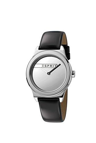 Esprit Damen Analog Quarz Uhr mit Leder Armband ES1L019L0015