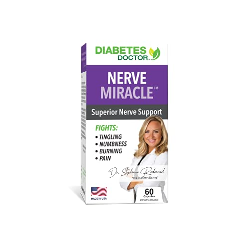 Diabetes Doctor Nerve Miracle - Support Healthy Nerves, Legs & Feet - Mega Dose of Alpha Lipoic Acid and Horse Chestnut