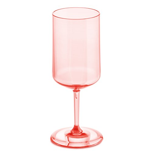 Koziol 3405654 Cheers No. 4 350 ml di vino in vetro, quarzo, trasparente Superglas