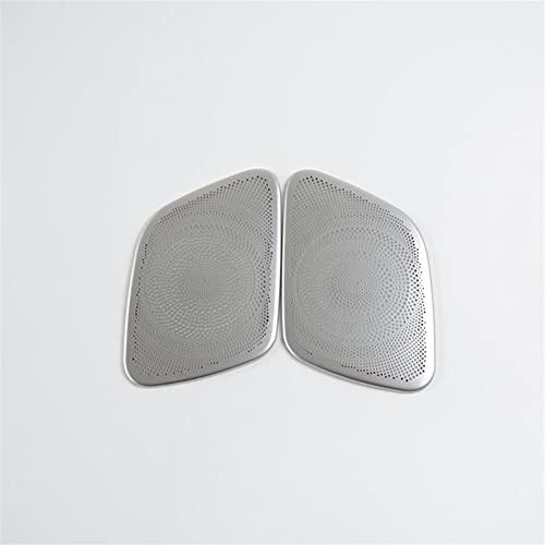 ASHDelk Car Styling Door Audio Speaker Decoración Cubierta Pegatinas Trim, para Audi A4 B8 2009-2016 Accesorios Interiores de Acero Inoxidable