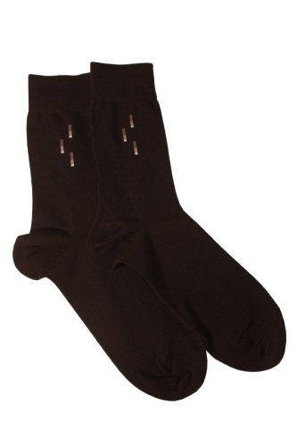 Weri Spezials Chaussettes pour Hommes. Couleur:Noir, Taille: 39-42