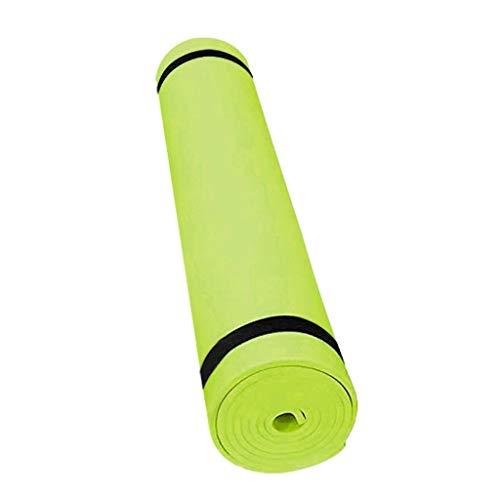 Estera de yoga antideslizante engrosada con asiento Eva EVA Tienda yoga duradera Estera de yoga antideslizante Aptitud Aptitud Fitness Matera de piso 4mm Fitness Mat Principiante alfombra * 3