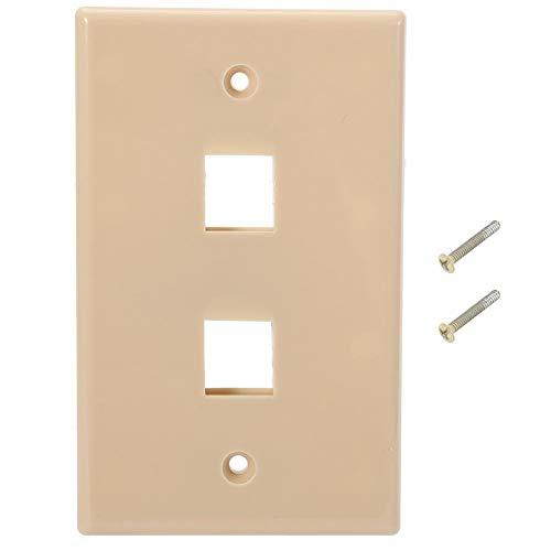 Kunststof bord standaard wandplaat USA stopcontacten ABS 5 stuks/set voor meubels kantoor hotel Dual Port