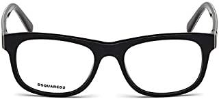 Dsquared2 DQ 5217 Col 001, Size 52-18-140 Unisex Optical Frames