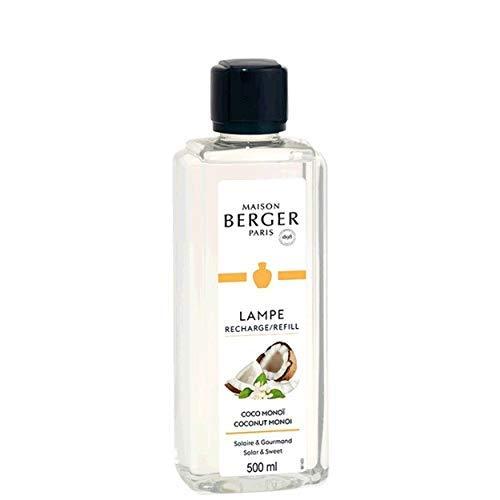 Lampe Berger - Recharge de parfum Lampe Berger 500ml - Parfum Coco Monoï - Maison Berger Paris