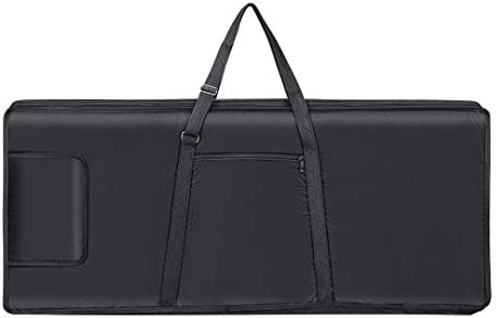 61 Key Keyboard Gig Bag Electric Piano Case Padded with 5mm Cotton Shoulder Strap and Storage product image