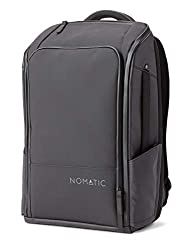 nomatic backpack with luggage strap