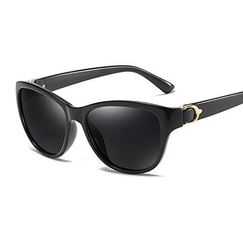 ShSnnwrl Único Gafas de Sol Sunglasses Gafas De Sol De Ojo De Gato De Gran Tamaño para Mujer, Gafas De Sol De Marca De Lujo, Gafa
