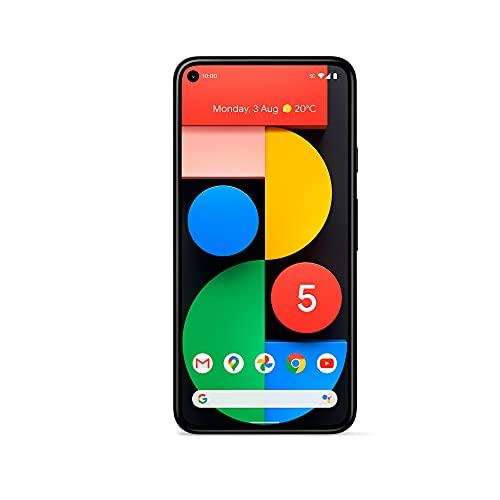 Google Pixel 5 128 GB 5G Handy, nur Schwarz – SIM-freies, entsperrtes Smartphone – das ultimative 5G Google Phone - 4