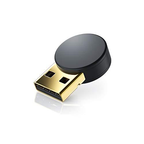 CSL - USB Bluetooth 4.0 Adapter - verbesserte Energieeffizienz - Bluetooth Class 4.0 Technologie - zur Verbindung von diversen Bluetoothgeräten Tastaturn Kopfhörer Soundboxen mit dem PC