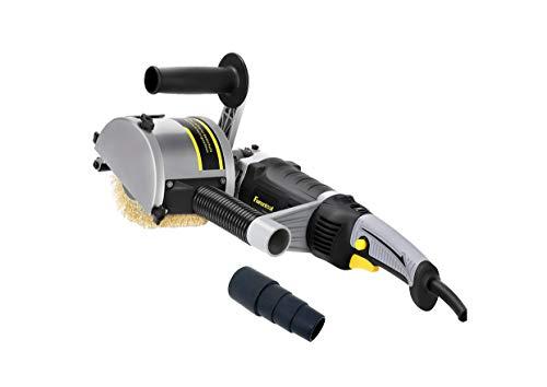 FANZTOOL 1500 Watt Satiniermaschine Schleifmaschine Renovator Bürstenschleifgerät zur Renovierung von Oberflächen aller Art
