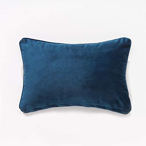 Sancarlos Alma Cojín, Poliéster, Azul Marino, 30X45 cm