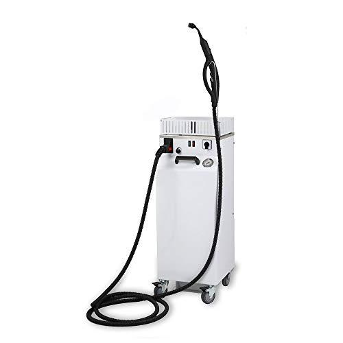 EOLO AV05 T PLUS RA Limpiador de vapor Profesional Industrial Trifásico con Recarga automática 7 Bares de presión Tanque externo de 10 L