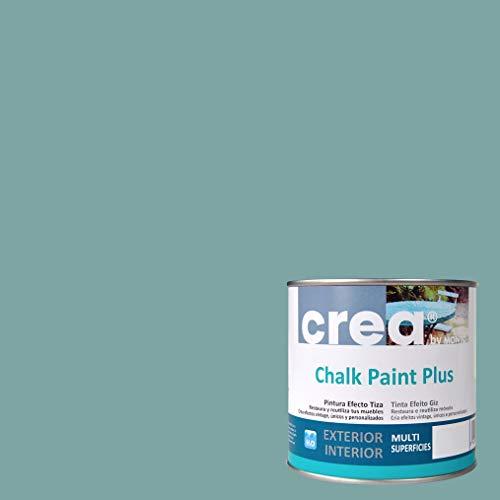 Pintura a la Tiza – Chalk Paint – Pinturas para decoración, restauración de muebles, madera – Pintura efecto Tiza (500ml) (Turquesa Vintage)