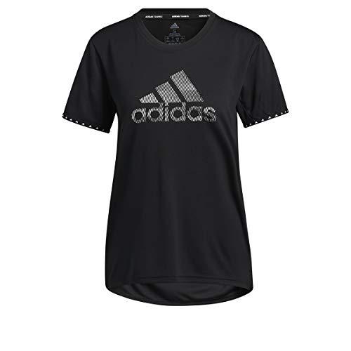 adidas Frauen BOS NECESSI-Tee T-Shirt (Kurzarm), Black/White, XS