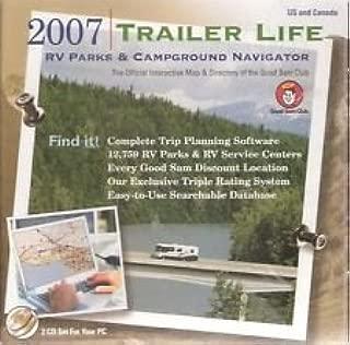 2007 Trailer Life Rv Parks & Campground Navigator Cd-rom! Good Sams Club