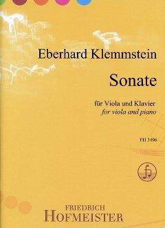 SONATE - arrangiert für Viola - Klavier [Noten / Sheetmusic] Komponist: Klemmstein Eberhard