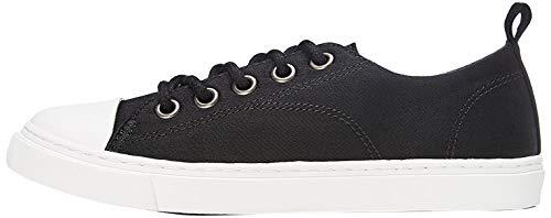 RED WAGON Jungen Flache Sneaker, Schwarz (Black), 30.5 EU