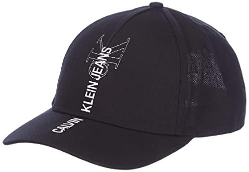 Calvin Klein Jeans Herren Cap Outline Baseballkappe, Schwarz, Einheitsgröße