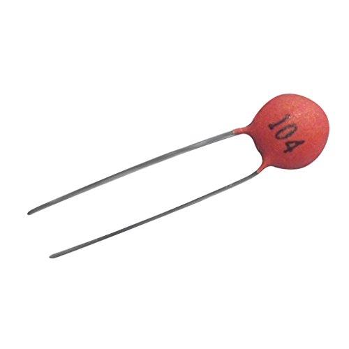 Generic 100 Stück 100nF / 0.1uF - Ceramic capacitor Keramikkondensator (104) - 50V Für Spielzeug