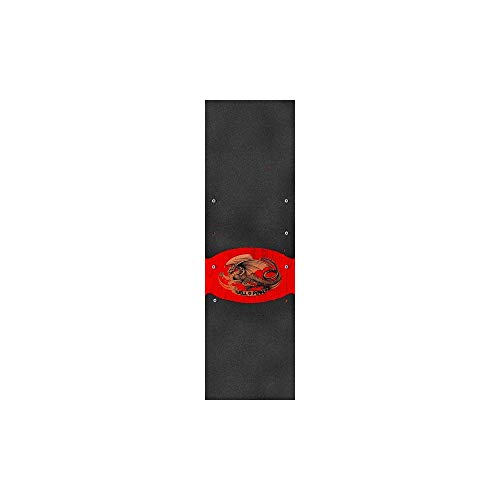 Powell Peralta Skateboard Grip Tape Oval Dragon 9.0'' Griptape