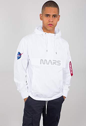 Alpha Industries Mars Mission Jacke Weiß L