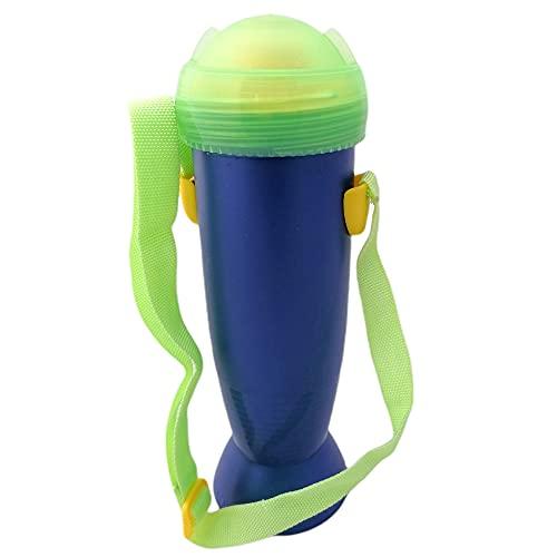 Tupperware Botella de agua de To Go de 650 ml, con correa de transporte, color azul oscuro y verde