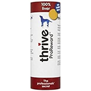 Thrive ProReward Liver Dog Treats (60g) (Pack of 6):Marocannonce