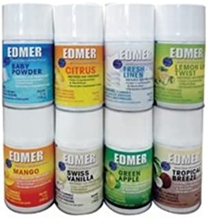 Edmer Assorted Metered Air Freshener - 12 cans per case