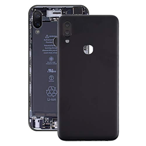 Qatgetwd Battery Back Cover with Side Keys for Lenovo S5 Pro (Color : Black)
