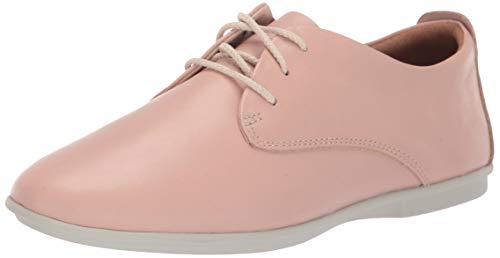 Clarks Women#039s Un Coral Lace Sneaker Blush Leather 7 W US