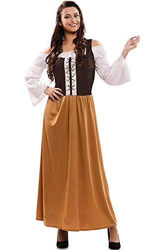 Disfraz Mesonera Marrón para mujer