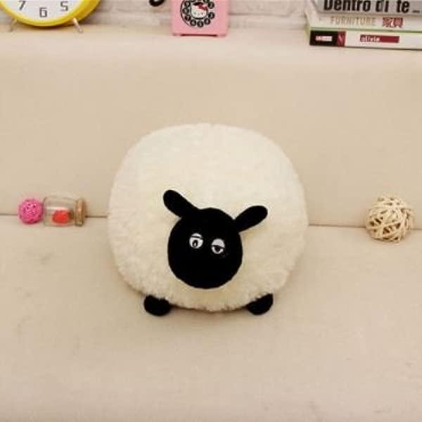 White Gray Cartoon Sheep Lamb Doll Plush Toys Children S Soft Fluffy Stuffed Toys Brinquedos Pillow Xmas Gift White