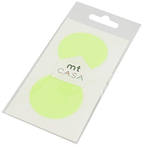 MT Casa Joint d'étanchéité Stickers – Vert vif (Lot de 10)