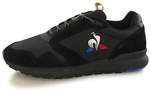 Le Coq Sportif Unisex Omega X Triple Black Sneaker, 43 EU