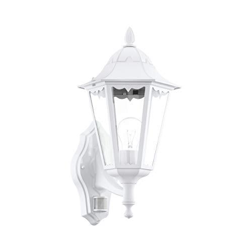 Eglo 93447 Lanterne, Aluminium, E27, Transparent