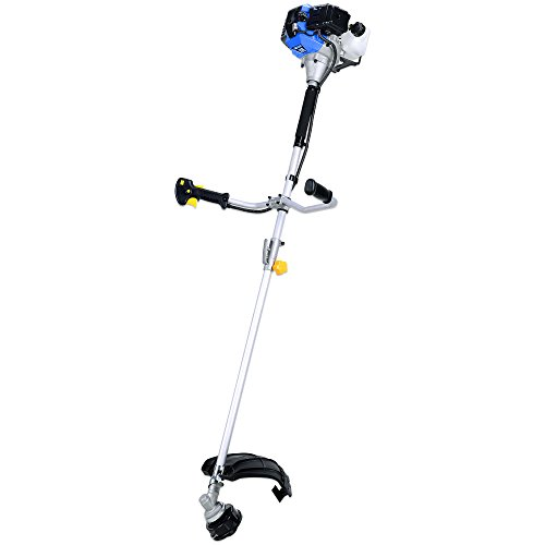 Blue Max 52623 Extreme Duty 2-Cycle Dual Line Trimmer and Brush Cutter, 42.7cc