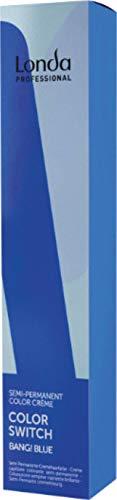 Londa Professional Color Switch Bang! Blue Semi-Permanent Color Creme blau, 80 ml