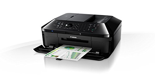 Canon Pixma MX725 All-in-One Multifunktionsgerät (Drucker, Scanner, Kopierer und Fax, USB, WLAN, LAN, Apple AirPrint) schwarz