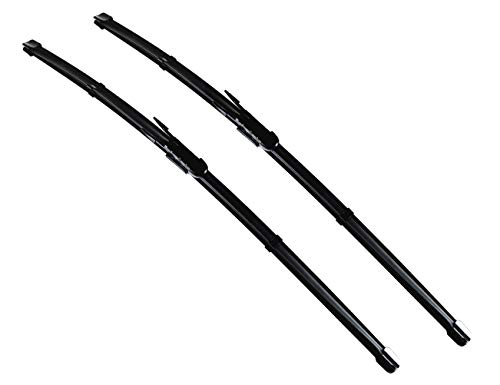 "Front Windshield Wiper Blades Fits 2011-2016 Mini Cooper Countryman Paceman R60 R61 OEM: 61610038597- Set of 2 Wiper Blade Set 20""+19"" Pinch Tab"